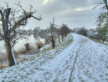Molen de Vrijheid Winters